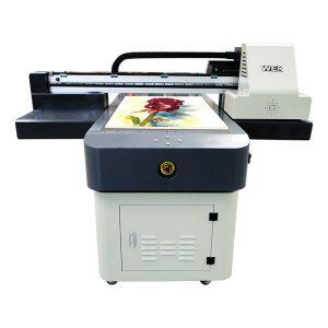 Fa2 ขนาด 9060 เครื่องพิมพ์ยูวีสก์ท็อป uv led มินิเครื่องพิมพ์รถ