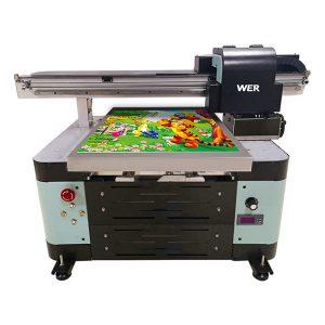 อุตสาหกรรม a2 dx5 หัวยูวีดิจิตอล flatbed uv เครื่องพิมพ์รถรูปแบบขนาดใหญ่