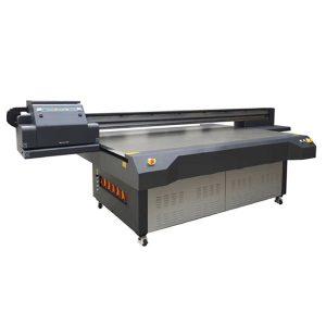 4x8 ฟุตยูวีนำเครื่องพิมพ์รถที่มี konica และ ricoh หัวพิมพ์