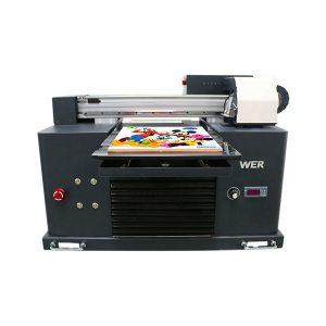 ขนาด a3 อัตโนมัติเต็มรูปแบบ 4 สี dx5 หัวเครื่องพิมพ์มินิเครื่องพิมพ์ยูวี dtg ยูวี flatbe