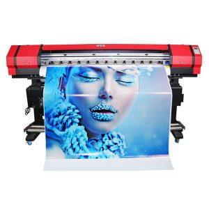 รูปแบบไวด์ 6 สีเฟล็กโซแบนเนอร์สติ๊กเกอร์เครื่องพิมพ์อิงค์เจ็ทตัวทำละลาย