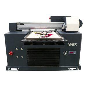 a4 flatbed dtg โดยตรงไปยังเครื่องการพิมพ์สิ่งทอเสื้อผ้าเครื่องพิมพ์เสื้อยืด