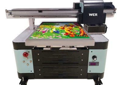 ต่างประเทศสนับสนุนเครื่องดิจิตอล a2 เครื่องพิมพ์ flatbed ยูวี