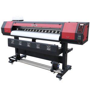 รูปแบบขนาดใหญ่ 1.8 เมตรไวนิล dx5 หัวพิมพ์เครื่องพิมพ์ตัวทำละลายนิเวศ