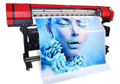 1.6 เมตรกลางแจ้งในร่ม eco ตัวทำละลายขนาดเล็กเครื่องพิมพ์ไวนิลพีวีซี