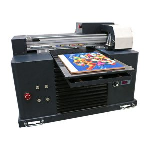 เครื่องการพิมพ์อิงค์เจ็ท led เครื่องพิมพ์ยูวีรถสำหรับขนาด a3 a4