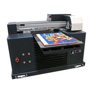 การออกแบบใหม่ขนาดเล็ก Led Flatbed A3 ขนาด A4 เครื่องพิมพ์ Epson UV