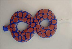 ตัวอย่างเทียน 1 จากเครื่องพิมพ์ UV ขนาด A2