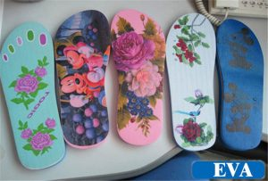 EVA-รองเท้าแตะพิมพ์ตัวอย่างจากที่ WER-EP6090UV