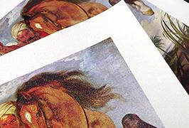 Canvas Oil พิมพ์ด้วยเครื่องพิมพ์ตัวทำละลายนิเวศขนาด 2.5 ม. (8 ฟุต) WER-ES2501