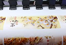 ไวนิลกาวตนเองพิมพ์ด้วยเครื่องพิมพ์ตัวทำละลายนิเวศ 1.8m (6 ฟุต) WER-ES1802