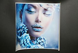 ไวนิลพลาสติดด้วยตนเองพิมพ์โดยเครื่องพิมพ์ตัวทำละลายนิเวศน์ยาว 3.2m (10 ฟุต) WER-ES3202