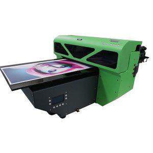 a2 รูปแบบขนาดเล็กเครื่องพิมพ์รถยูวีที่มี 1 ชิ้น dx5 หัวพิมพ์