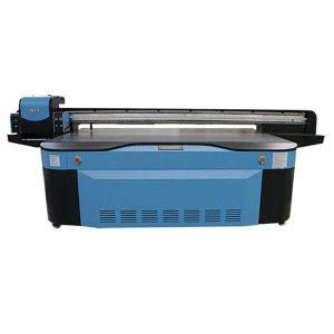 รูปแบบขนาดใหญ่ความเร็วสูง flatbed ดิจิตอลจีนเครื่องพิมพ์ยูวีสำหรับการพิมพ์แก้ว