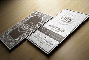 นามบัตรไม้พิมพ์ด้วย A1 uv WER-EP6090UV