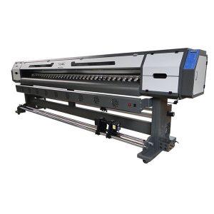 3.2 เมตร dgi 5113 หัวนิเวศตัวทำละลายเครื่องพิมพ์ 10 ฟุตเครื่องการพิมพ์แบนเนอร์ดิ้น